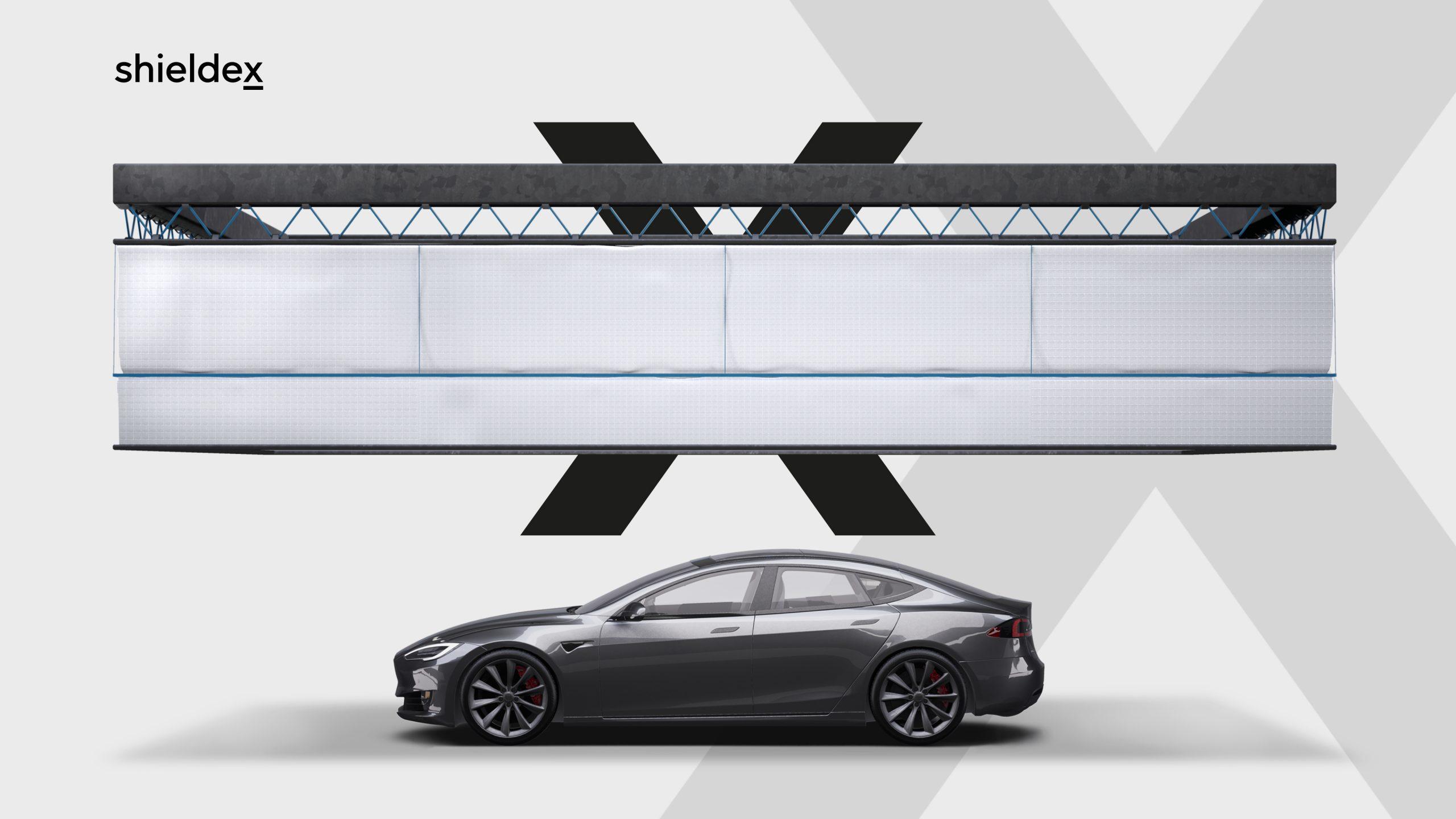 Shieldex X - Tenda per automobile